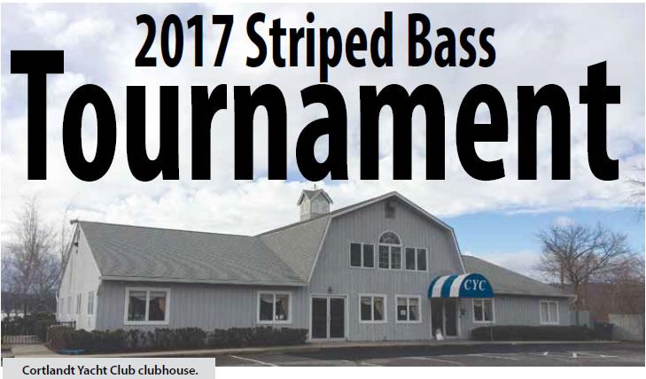 2017 Striped Bass Tournament