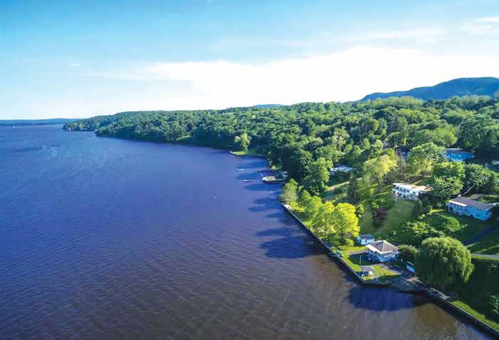 A ONE OF A KIND HUDSON RIVER WATERFRONT PROPERTY