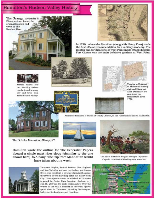 Hamilton's Hudson Valley History