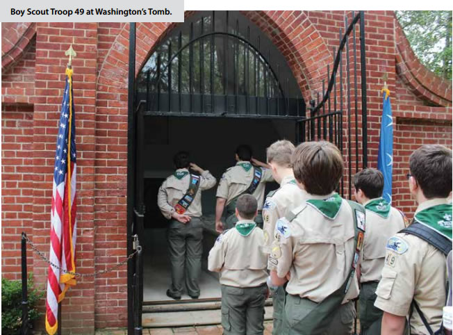 The Boy Scouts of America are alive and well!