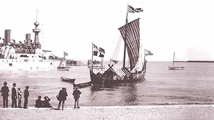 VIKING SHIP OF 1893