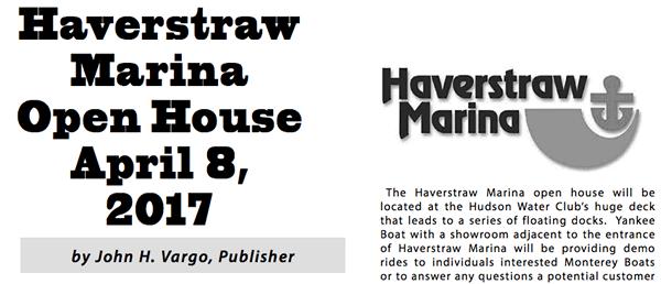 harverstraw marina open house