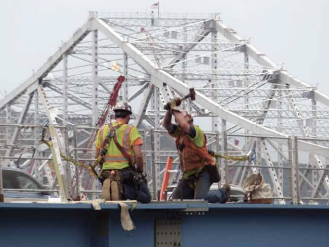 Iron Workers - Boating on the Hudson Articles