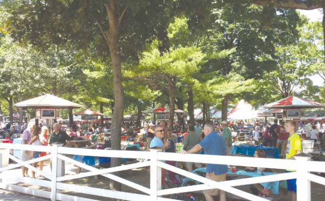The Saratoga Race Course – Accessible By Land Or Sea