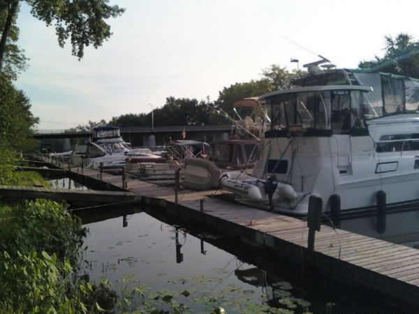 From Judy and Phil Dean, Owner Operators of Schuyler Yacht Basin