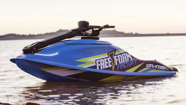 World's First Electric, Stand-up Personal Watercraft