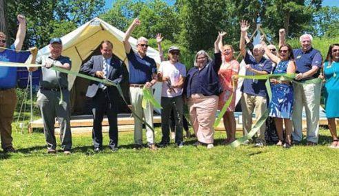 Camp Rockaway  Officially Opens  in Schuylerville
