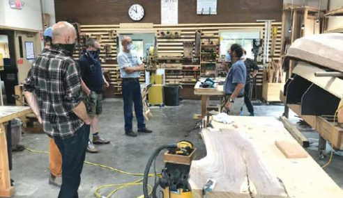 Hudson River Maritime Museum Offers Introductory Woodworking Classes